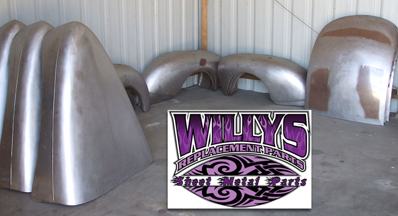 Willys Replacement Parts Sheet Metal All